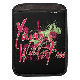 Young Wild and FREE iPad Sleeve