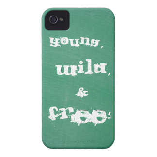 Young, Wild, and free iPhone 4/4s case