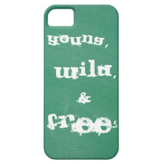 Young, Wild, and free iPhone 5 case