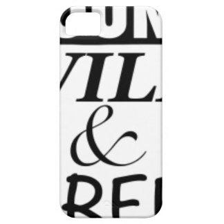 YOUNG WILD AND FREE iPhone 5 COVER