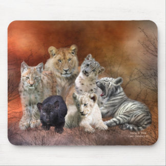 Young & Wild Art Mousepad