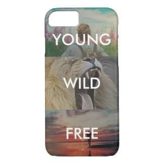 Young, Wild & Free iPhone 7 Case