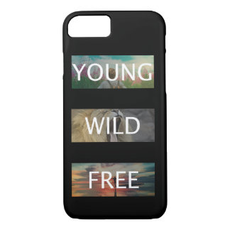 Young, Wild & Free iPhone 8/7 Case
