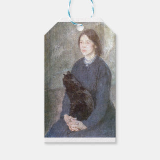 Young Woman Holding a Black Cat - Gwen John Gift Tags