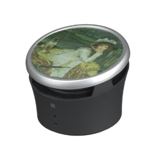 Young Woman in a Boat, or Reflections, c.1870 (oil Bluetooth Speaker