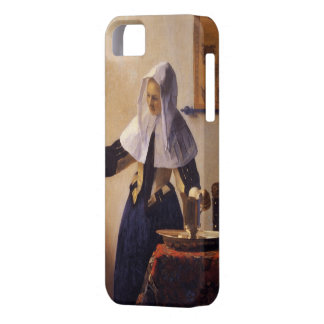 Young Woman with a Water Pitcher iPhone 5 Case