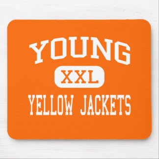 Young - Yellow Jackets - High - Knoxville Mouse Pad