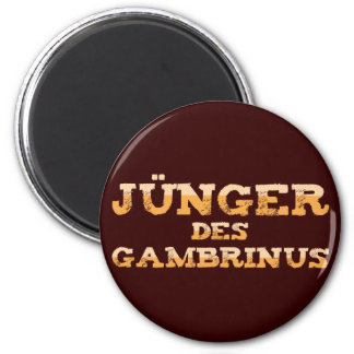 Younger the Gambrinus 6 Cm Round Magnet