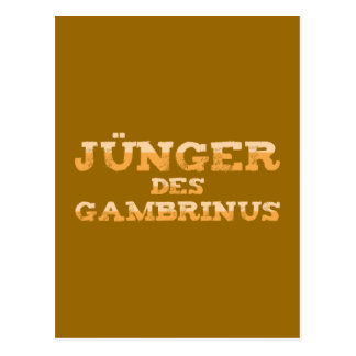 Younger the Gambrinus Post Cards