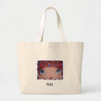 younghippie2, PEACE Jumbo Tote Bag