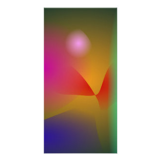 Your Abstract Photo Greeting Card