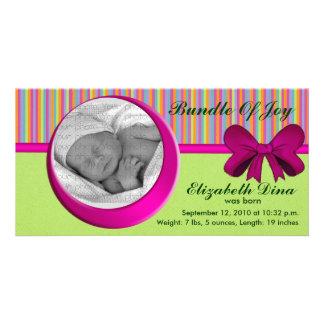 Your Baby1, photo card Bundle Of Joy