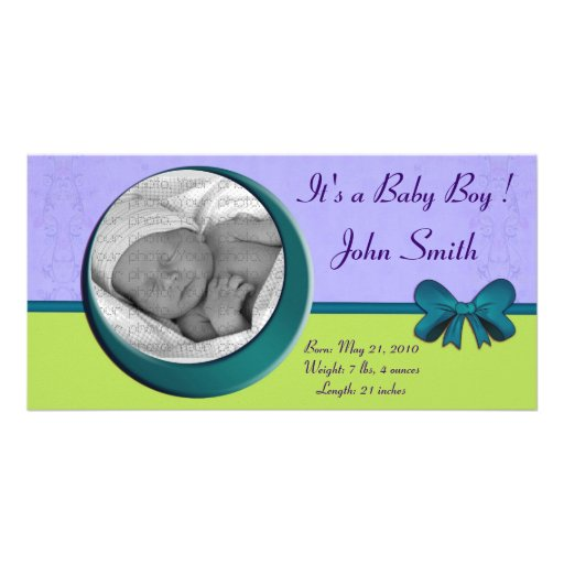 Your Baby1, photo card, It's a Baby Boy