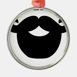 your beard is good metal ornament