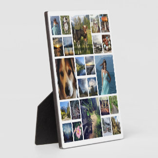 Your Best Photos Customized Template Plaque