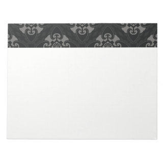 Your Black Heart Tribal Notepad