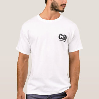 Your Blood and Guts CSI Unauthorized T-Shirt