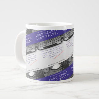 Your book needs merch! Ready to customize! Large Coffee Mug