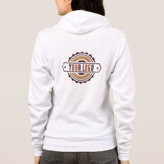 Your Business Logo Hoodie Jacket Women's