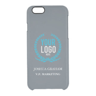 Your Business Logo | Job Title Custom Clear iPhone 6/6S Case