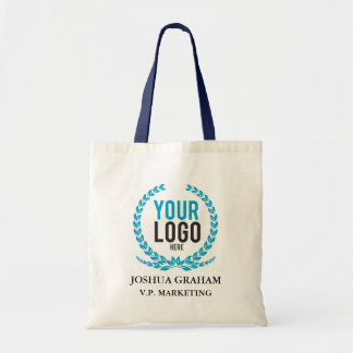 Your Business Logo | Job Title Custom Employee Tote Bag
