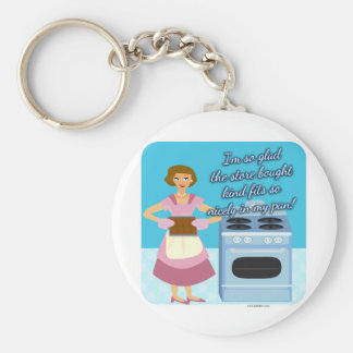 Your Cheatin Brownies Snarky Housewife Key Ring