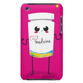 Your chocolate is the only medicine... iPod Case-Mate case