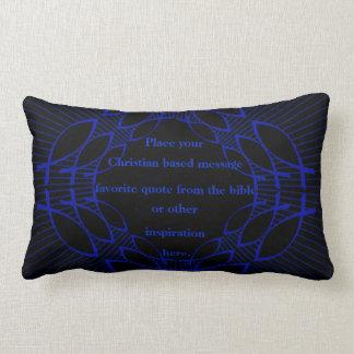 your christian message lumbar cushion