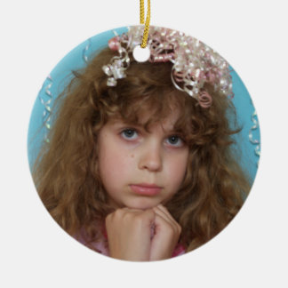 Your Christmas Photo Ornament with Your Picture