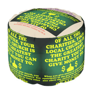 Your Church Is The Greatest Charity. Pouf