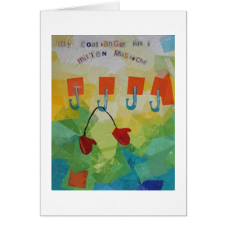 Your Coathanger Has a Mitten Mustache Card
