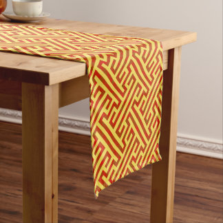 Your Color and Argos Red Short Table Runner