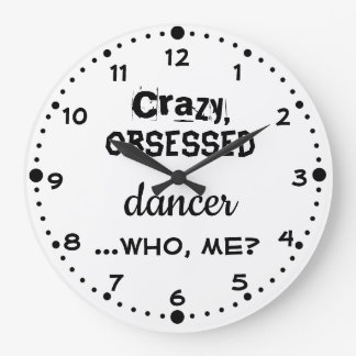 Your Color Dance Clock Gift for Dancers Obsessed