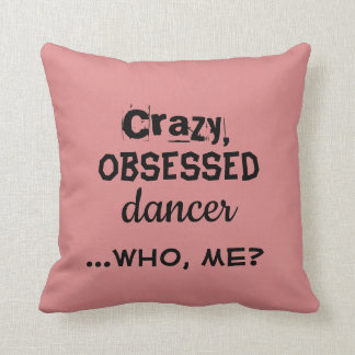 Your Color Dance Pillow Crazy Dancer Home Decor