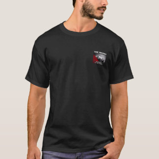 Your Company Black Car Black t-shirt