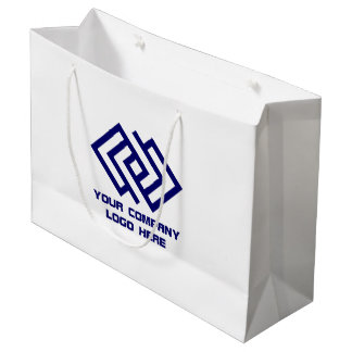 Your Company Logo Gift Bag Large