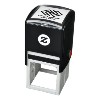 Your Company Logo Self-Inking Stamp - Choose Color