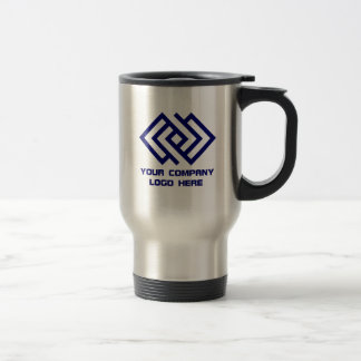 Your Company Logo Travel Mug Stainless Steel