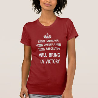 Your Courage Will Bring Us Victory. Best Price Tshirts