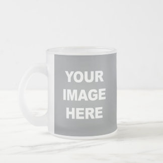 Your Custom 10 oz Frosted Glass Mug
