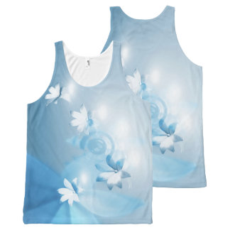 Your Custom All-Over Printed Unisex Tank, XL lbflw All-Over Print Tank Top