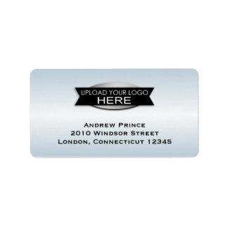 Your Custom Business Logo Address Label