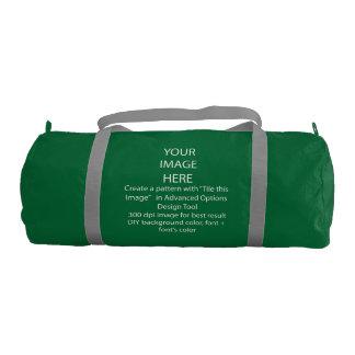 Your Custom Duffle Gym Bag, Emerald Green Gym Duffel Bag