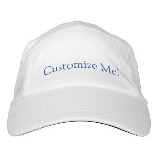 Your Custom Knit Performance Hat, White Hat