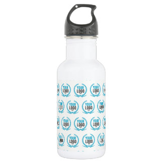 Your Custom Logo | Image All Over Patterned 532 Ml Water Bottle