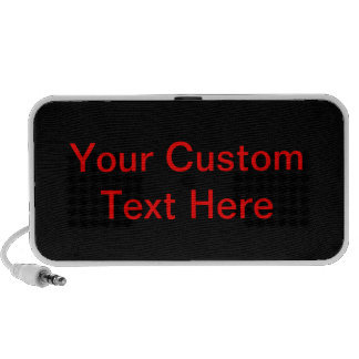 Your Custom Text Here Portable Speakers