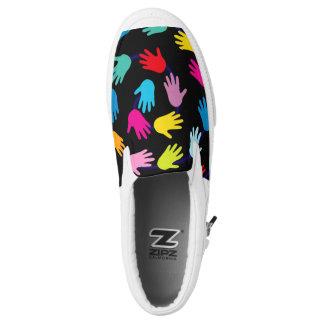 Your Custom Zipz Slip Shoes, US Men 7 / US Women Printed Shoes
