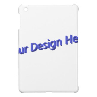 Your Design Here iPad Mini Covers