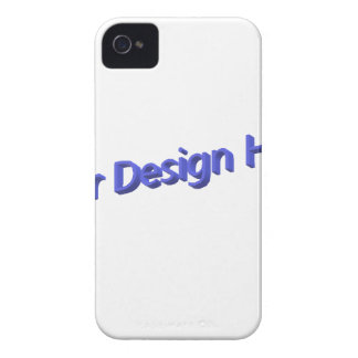 Your Design Here iPhone 4 Case-Mate Case
