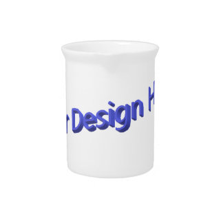 Your Design Here Pitcher